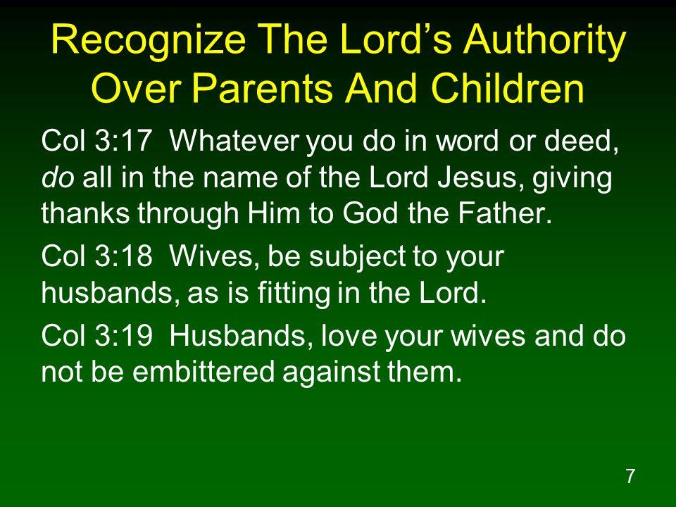 28 Teach Children To Fear And Love God Above All Deu 6:4 Hear, O Israel.