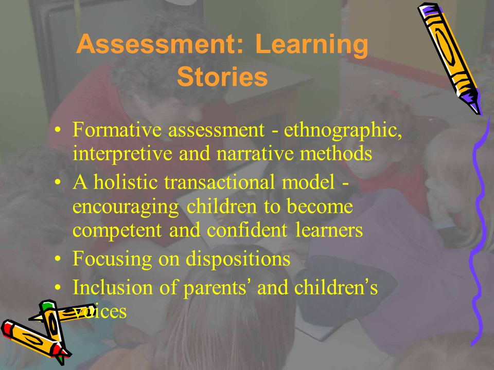 Including the Child's Voice Assessments that include the child's voice or children making a contribution to their assessments encourage an orientation towards learning goals….