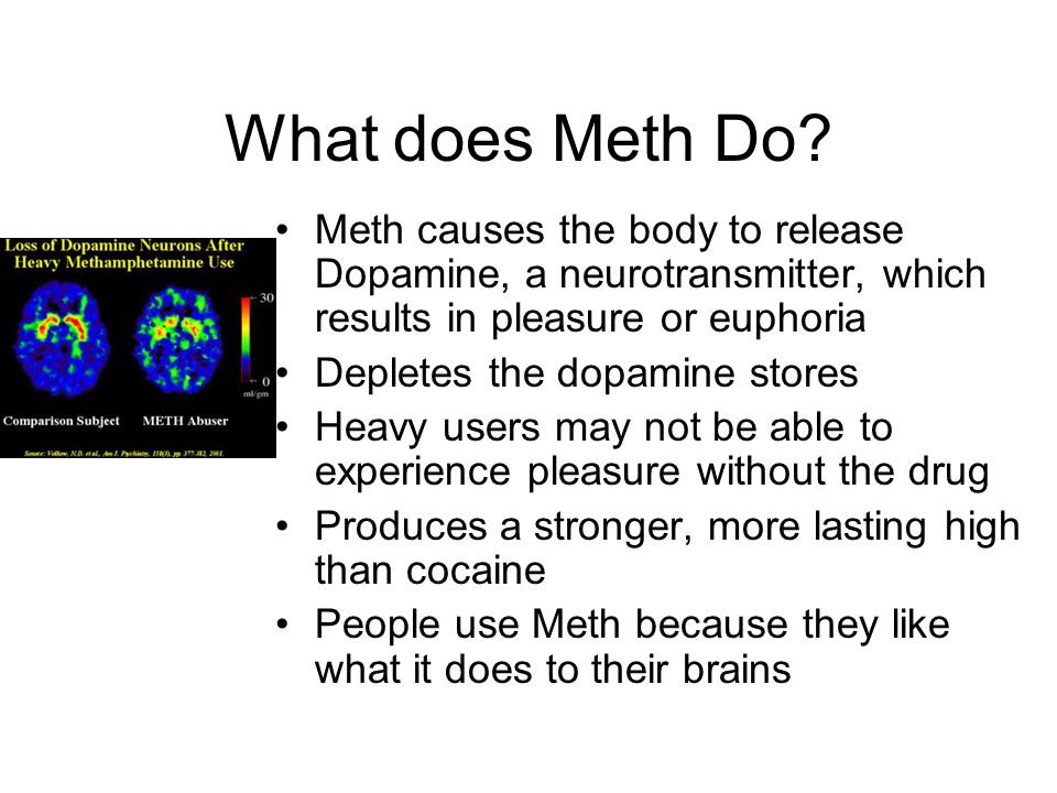 What does Meth Do.