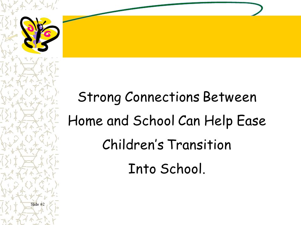 What do we mean by transitions ? It is a process of adapting to change. Slide #3