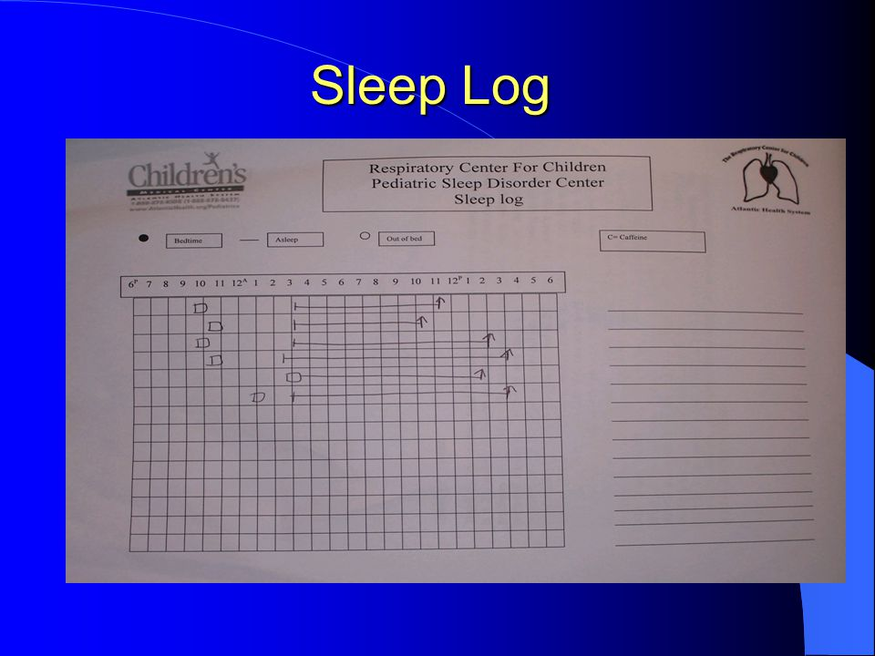 Sleep Log