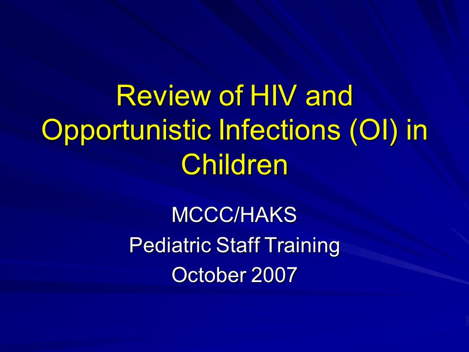 Review of HIV What is HIV.