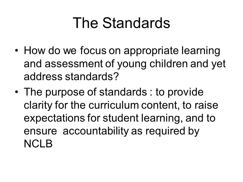 Standardized Tests Note that the educational system in the US has included a strong standardized test tradition.