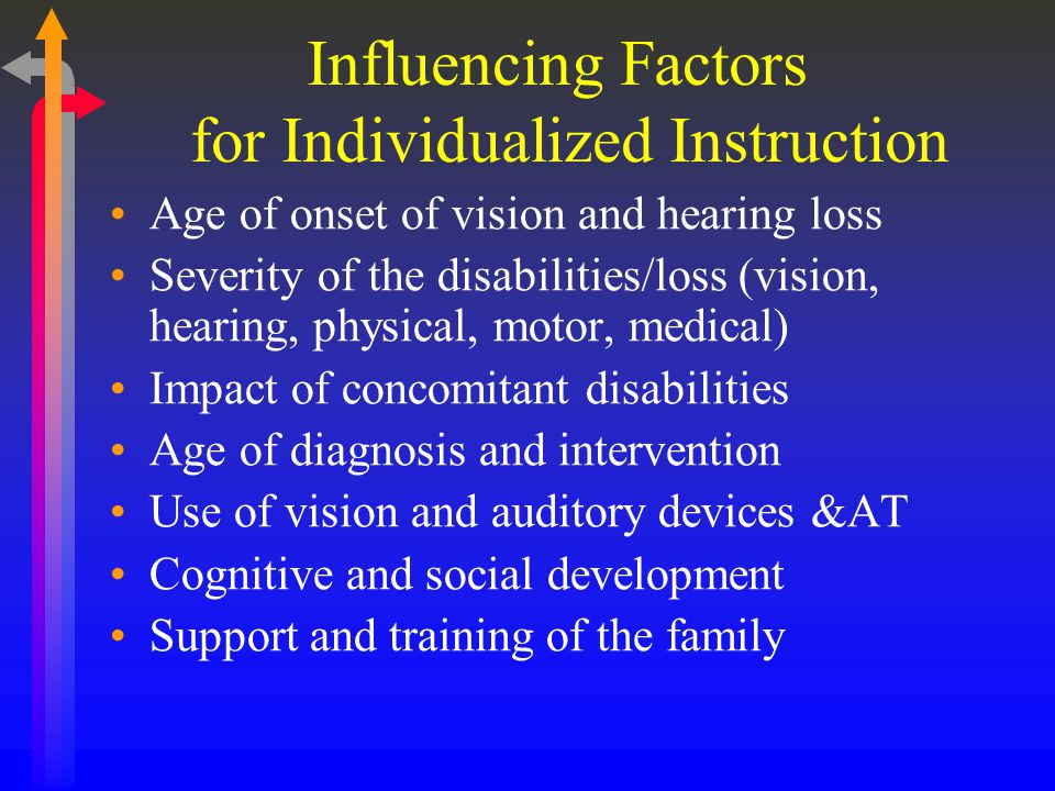 How Are Children With Multiple Disabilities Different From a Typical Deaf Child.