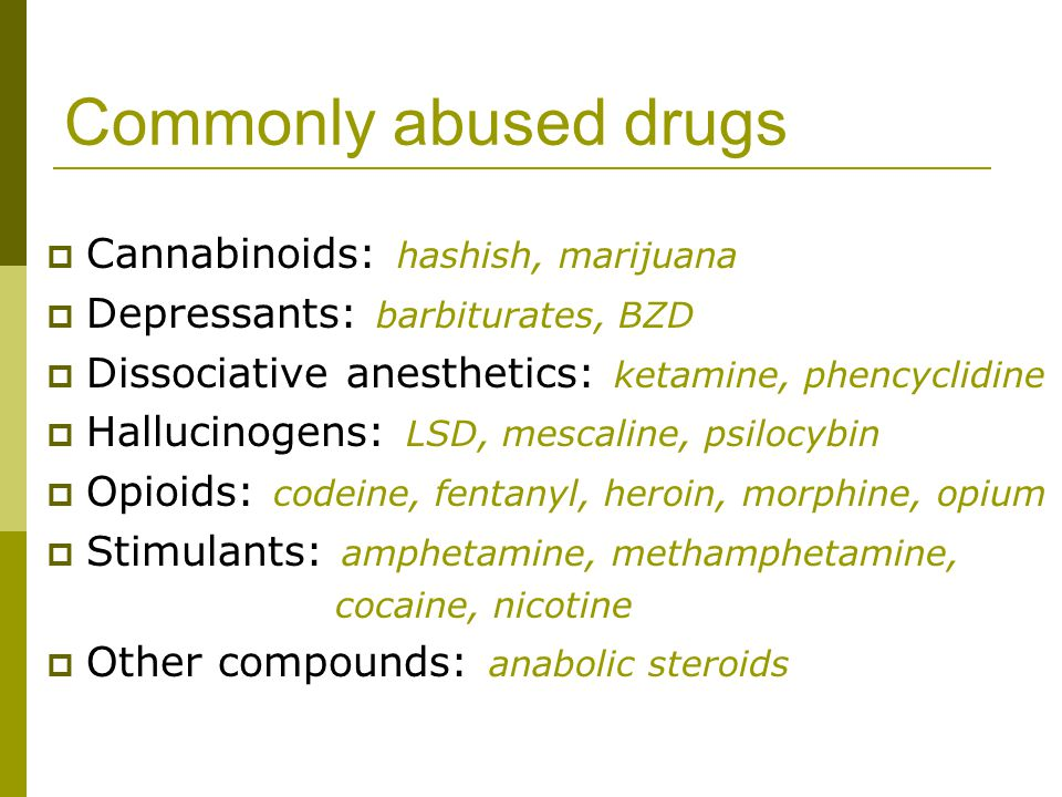Why do people take drugs.