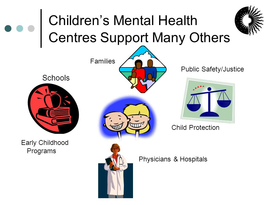 Mental health & health costs Mental disorders are the 2 nd highest source of direct health care costs (hospitals, physicians, medicines) in Canada 3 The average cost of treating children's mental health problems in community-based agencies is less than $2,500 per child per year.