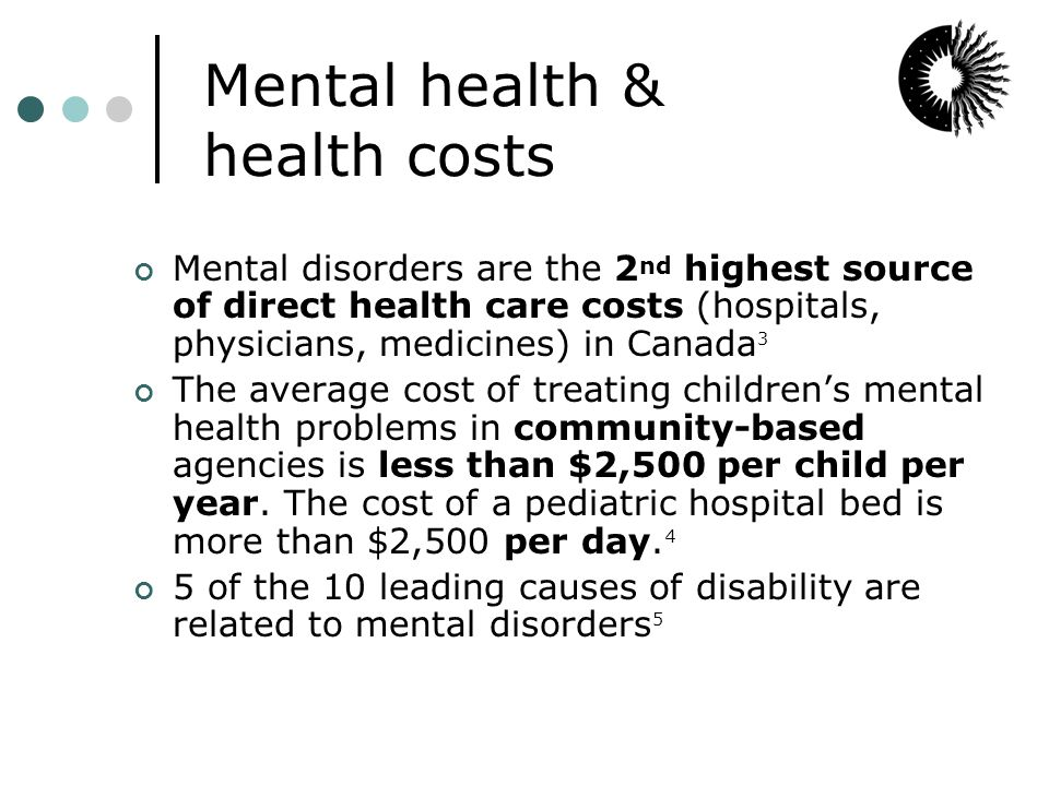 Is our kids' mental health worth 4 cents a week.