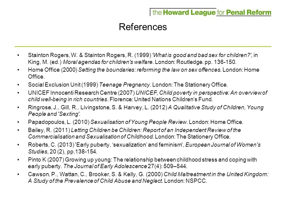 References Stainton Rogers, W. & Stainton Rogers, R.
