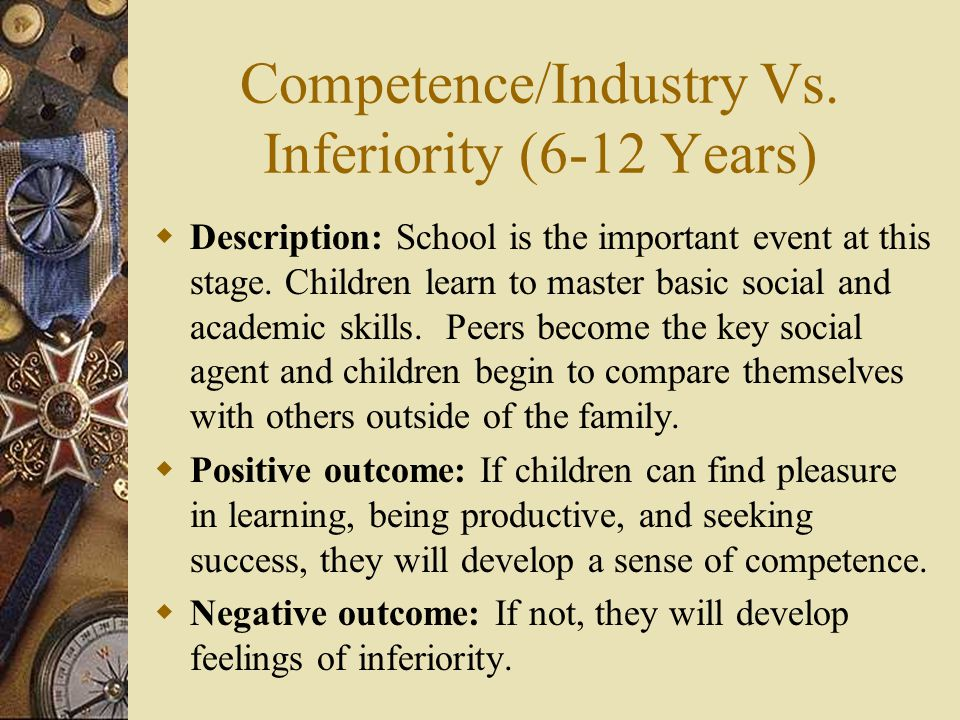 Competence/Industry Vs.
