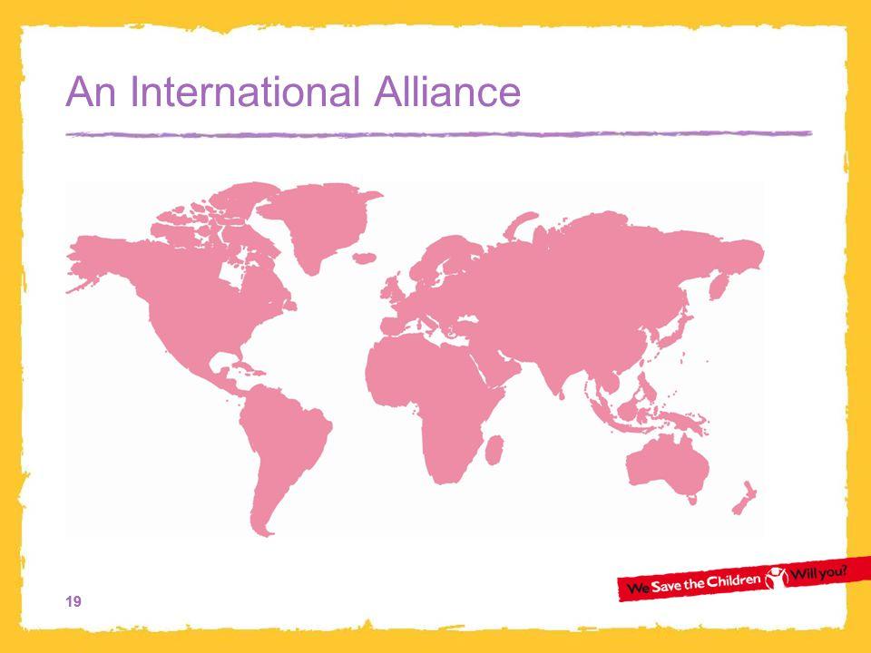 19 An International Alliance