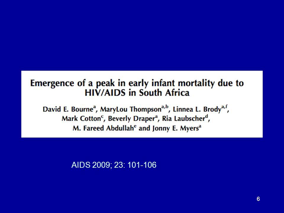 6 AIDS 2009; 23: 101-106