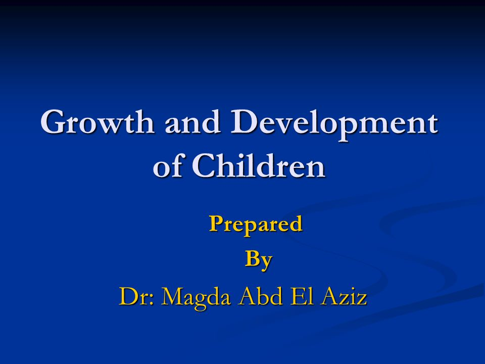 Principles of Growth & Development G & D proceed in regular related directions : - Cephalo-caudal(head down to toes) - Cephalo-caudal(head down to toes) - Proximodistal (center of the body to the peripheral) - Proximodistal (center of the body to the peripheral) - General to specific - General to specific