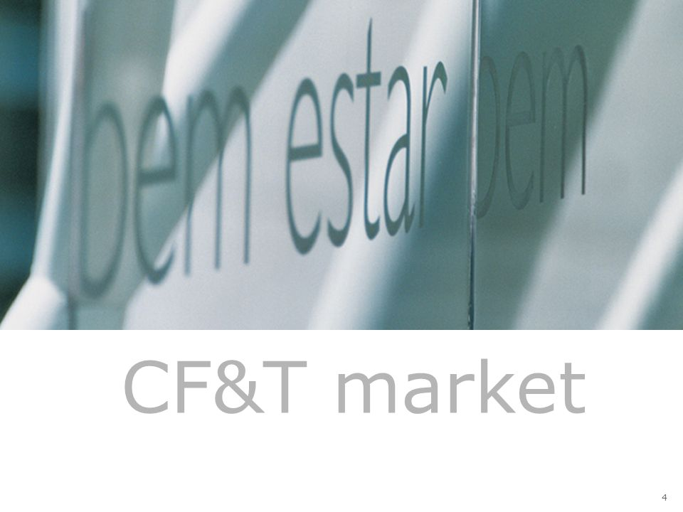 CF&T core market – Brazil > Core Market 1 – Net Revenues (R$ billion, nominal) CAGR (2001-2006) = 16.5% 2001200220032004 2005 5.3 6.3 7.2 8.7 10.1 +13.4% (1)Target market: Skin care, sunscreen, makeup, perfums, fragrances, hair care, shaving products and deodorant - excludes diapers, nail polishes, sanitary pads, hair dyes and oral hygiene.