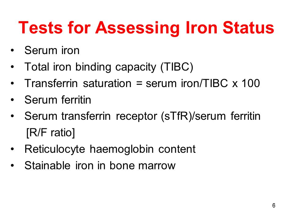 37 Treatment of Iron Deficiency and Iron Deficiency Anaemia