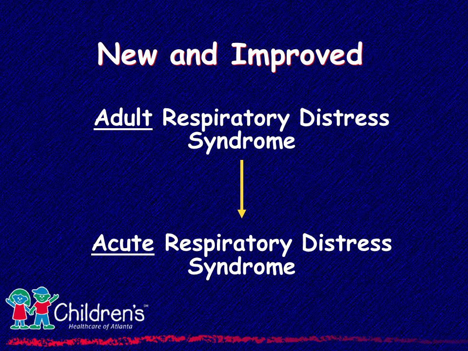 ARDS - Outcomes Most studies - mortality 40% to 60%; similar for children/adults Death is usually due to sepsis/MODS rather than primary respiratory Mortality may be decreasing 53/68 % 39/36 %