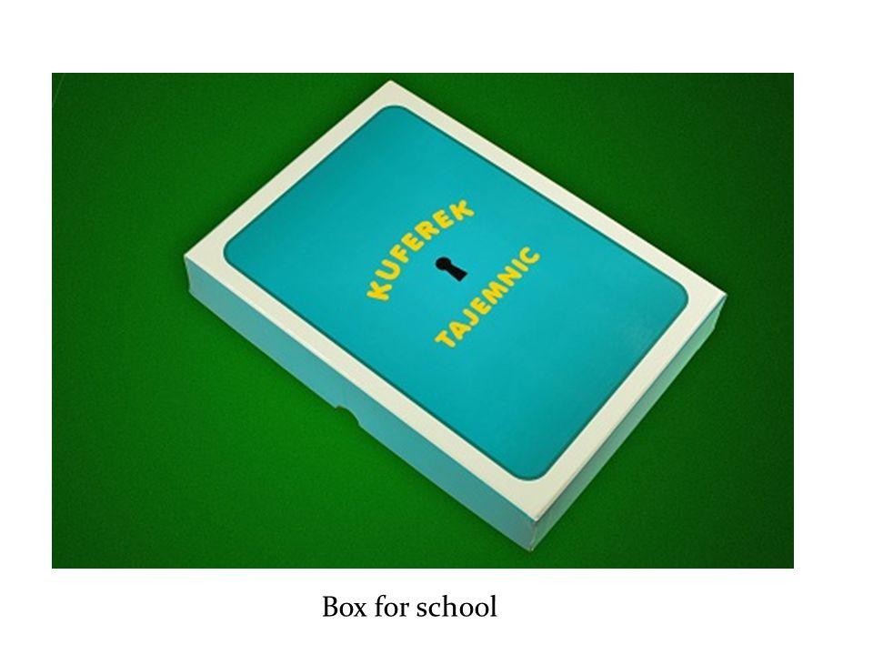 Box for school