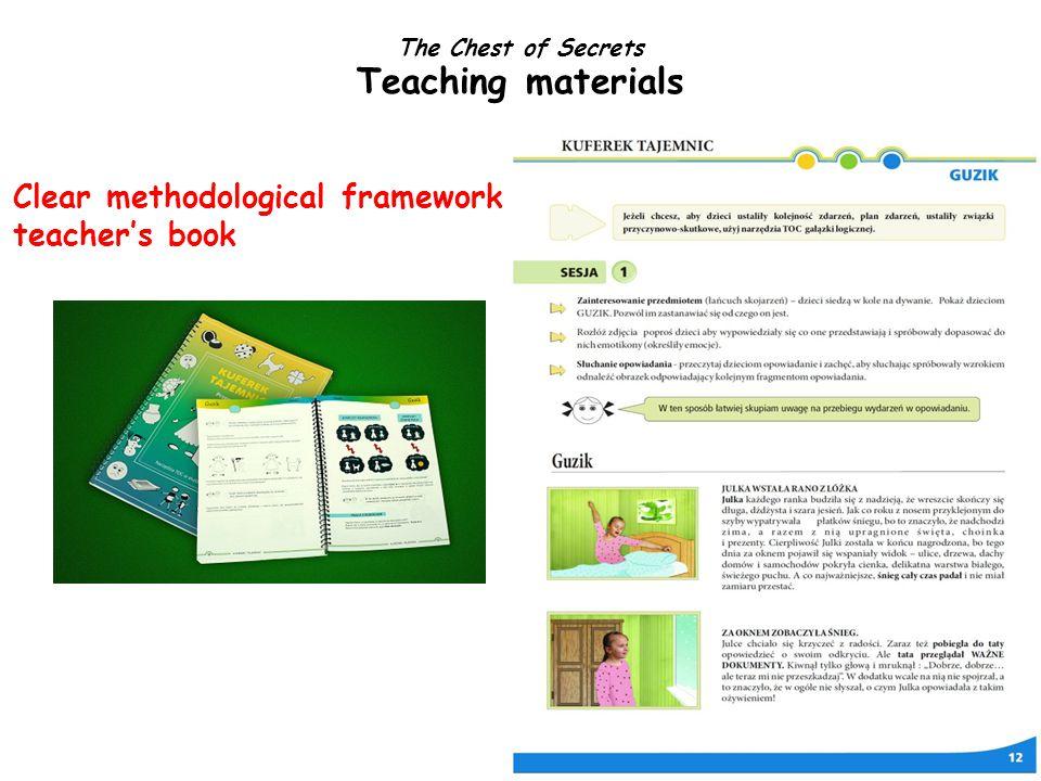 Clear methodological framework teacher's book The Chest of Secrets Teaching materials