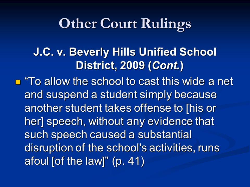 Other Court Rulings J.C. v.