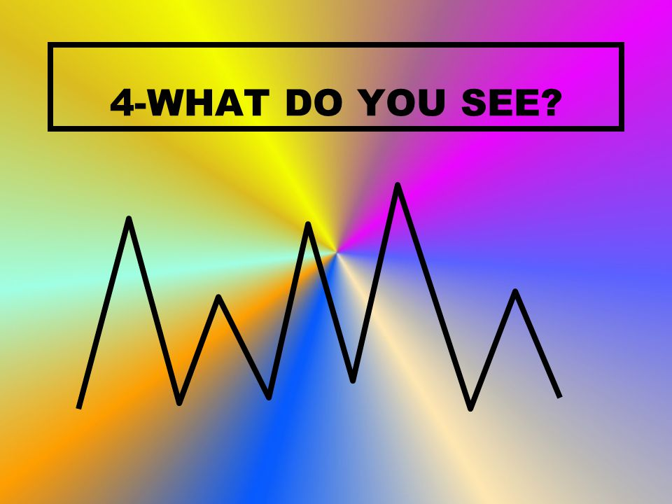 4-WHAT DO YOU SEE