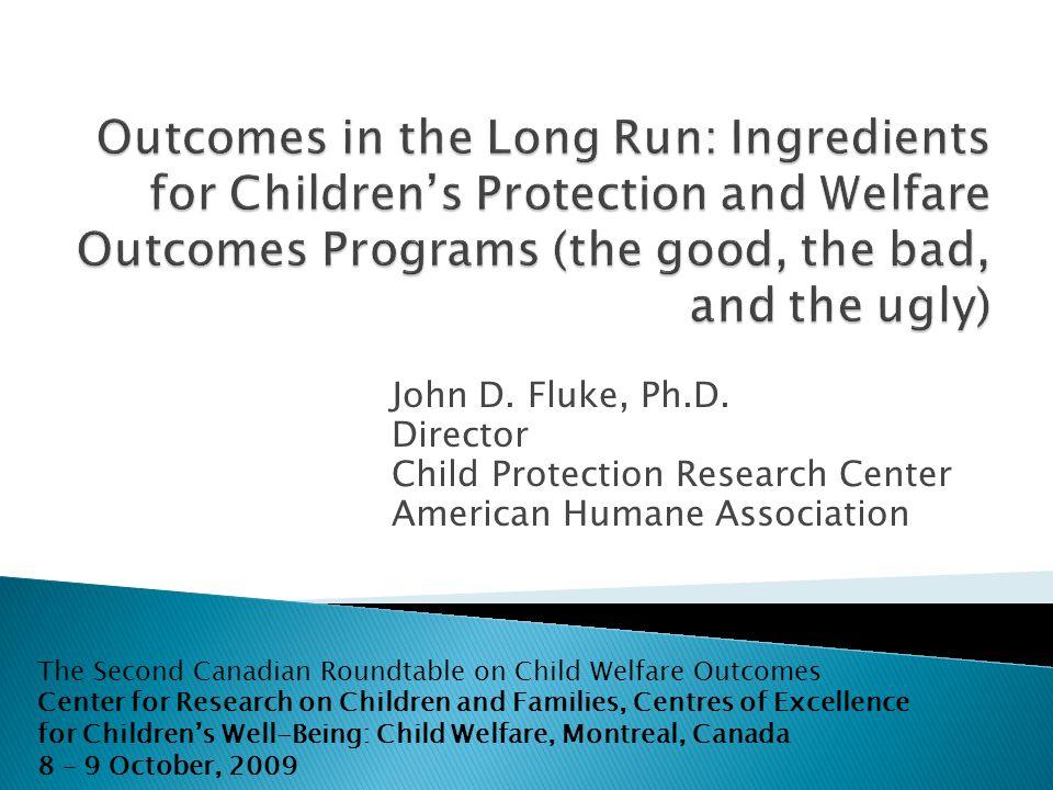 John D. Fluke, Ph.D.