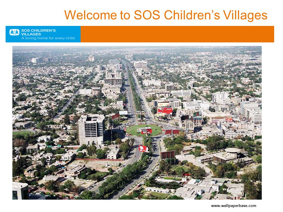www.wallpaperbase.com Welcome to SOS Children's Villages
