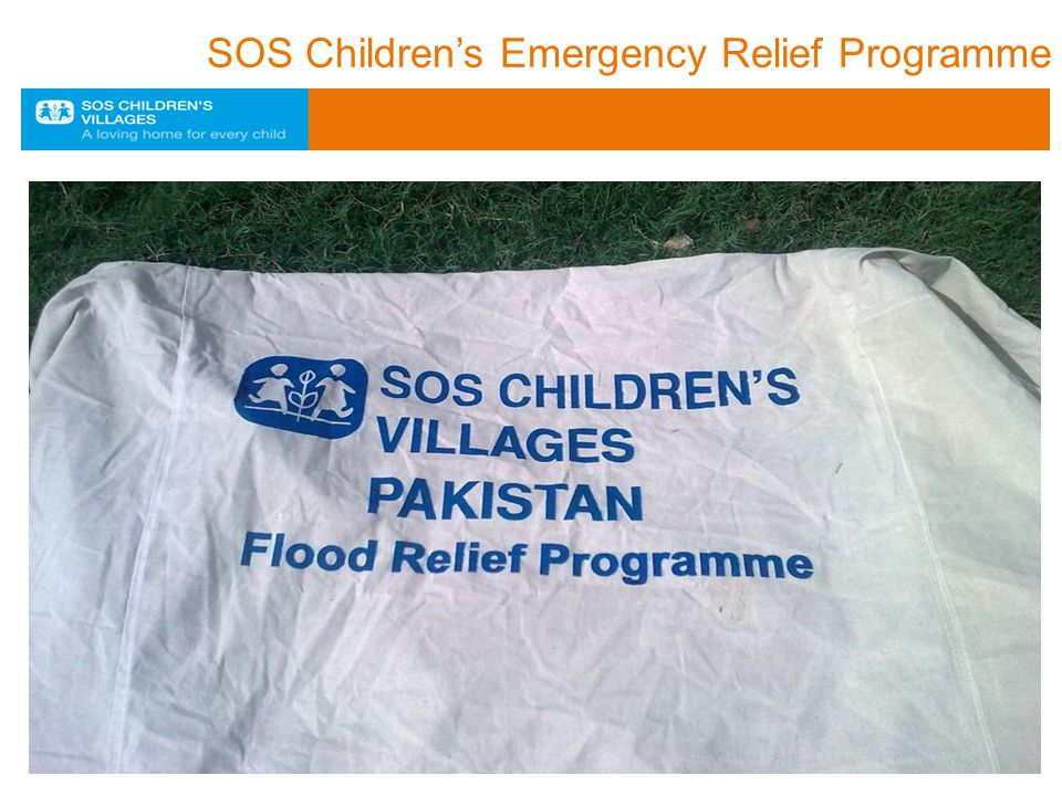 SOS Children's Emergency Relief Programme