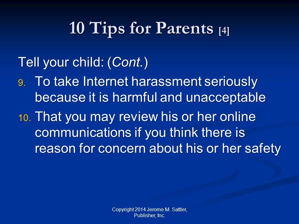 10 Tips for Teachers [1] 1.