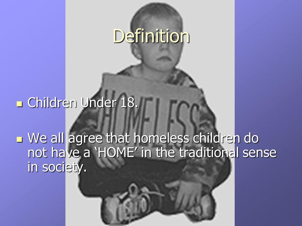 Children Under 18.Children Under 18.