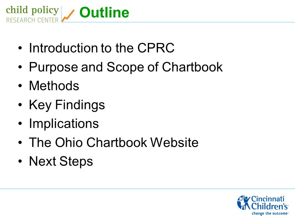 Website Ohio Chartbook 2008: Child Health and Health Care Across Ohio http://ohiochartbook.childhealthdata.org http://ohiochartbook.childhealthdata.org