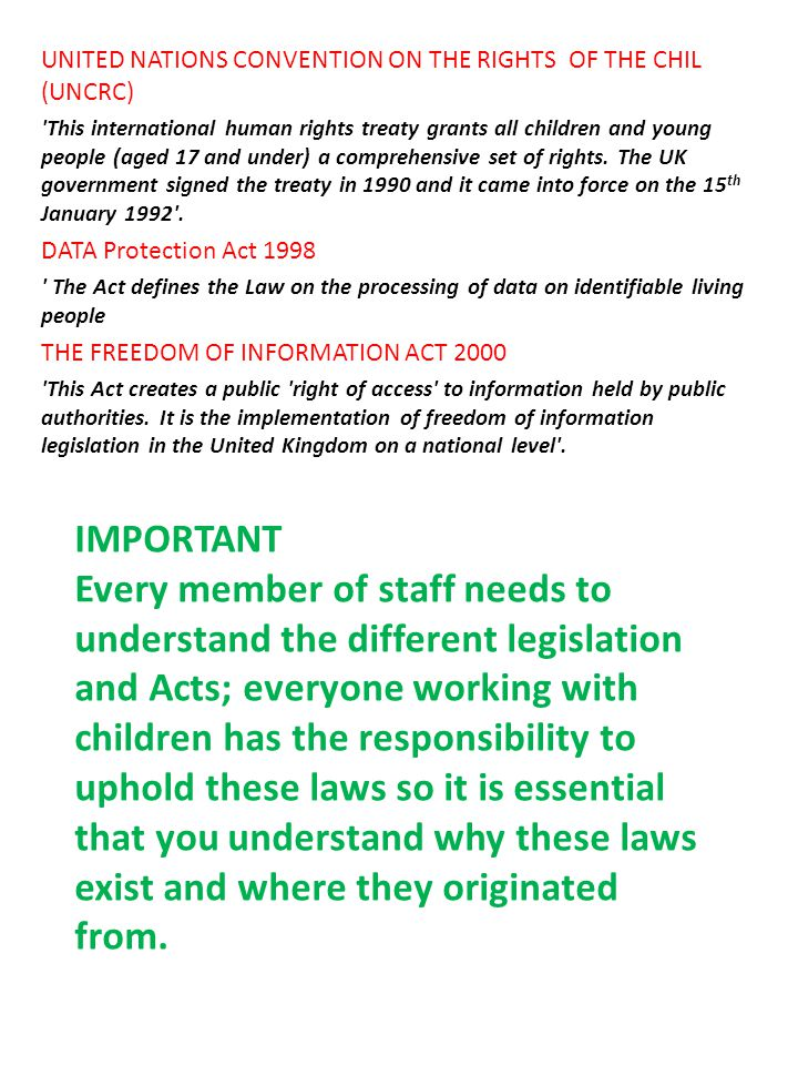 STATUTORY GUIDANCE What to do if you are worried a child is being abused (2006)