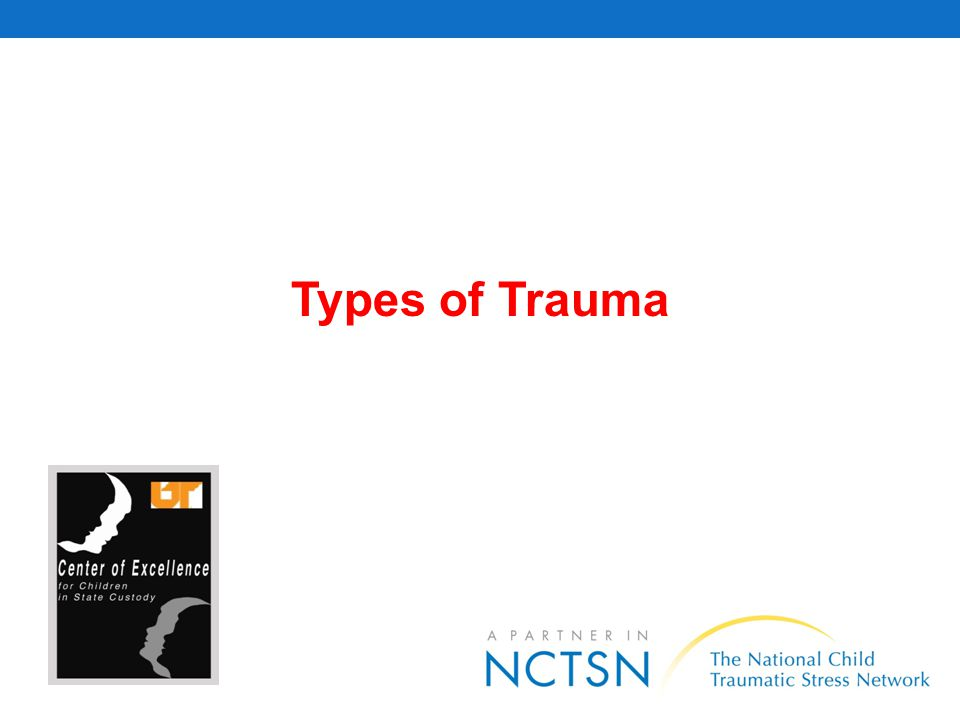 Acute Trauma Events that occur at a particular time and place and are short-lived, and involve: (1) experiencing a serious injury to yourself or witnessing a serious injury to or the death of someone else, or (2) facing imminent threats of serious injury or death to yourself or others, or (3) experiencing a violation of personal physical integrity.