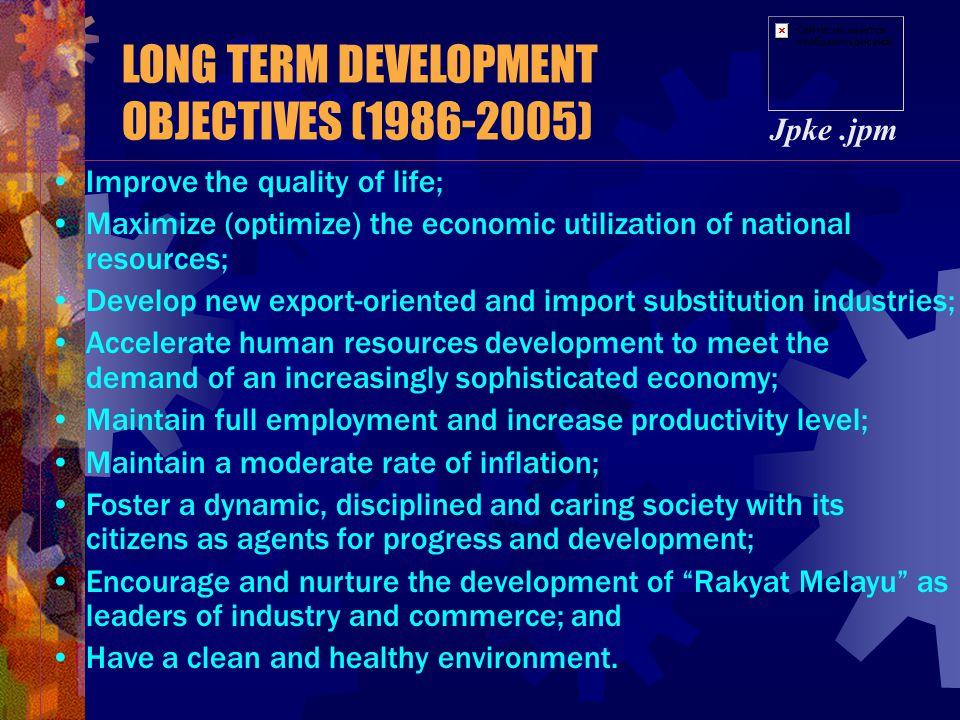 NDP 1 NDP2 NDP 3 NDP 4 NDP 5 NDP 6 NDP 7 NDP 8 1953- 1958 1962- 1966 1975- 1979 1980- 1984 1986- 1990 1991- 1995 1996- 2000 2001- 2005 2006-2035 LONG