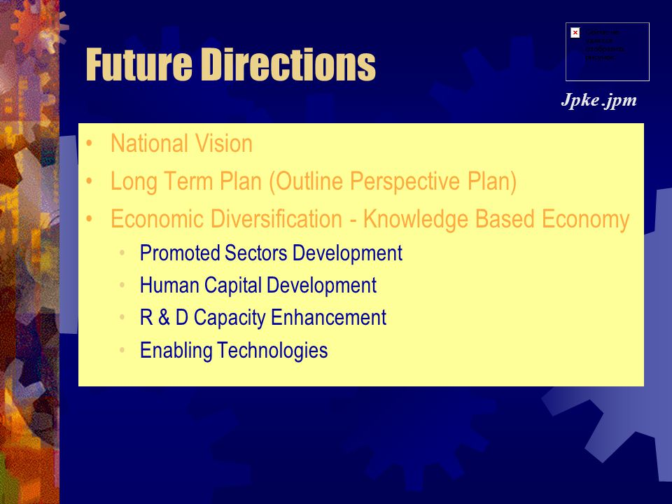 Recent Initiatives Mid-Term Review (June 2003) Evaluate the progress of implementation & achievements Ensure effective Programs/Projects implementatio