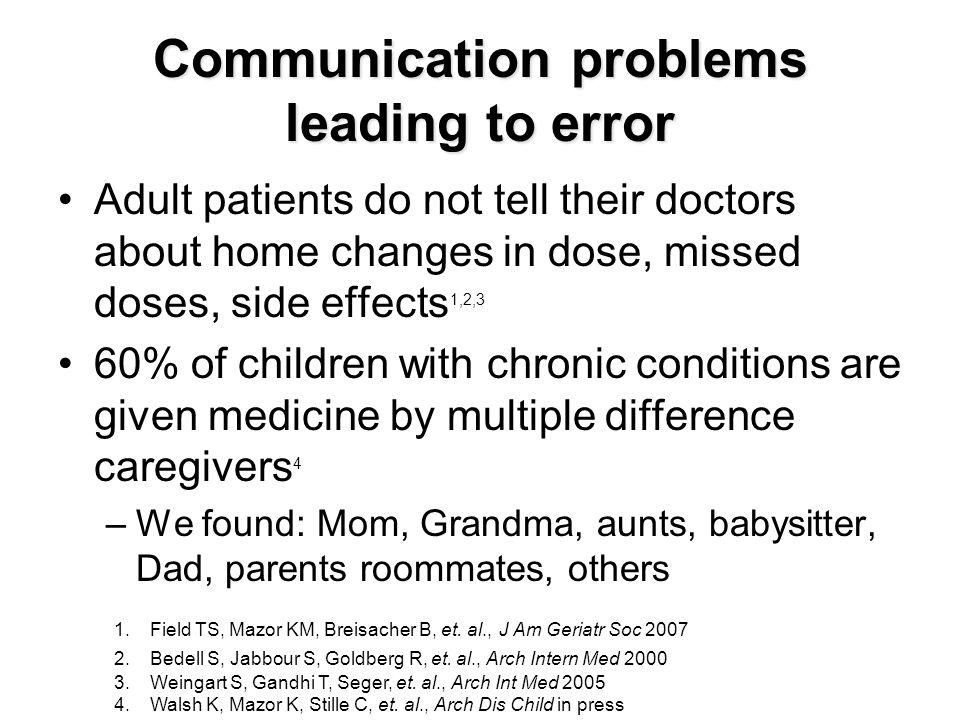More complex regimens are more prone to error