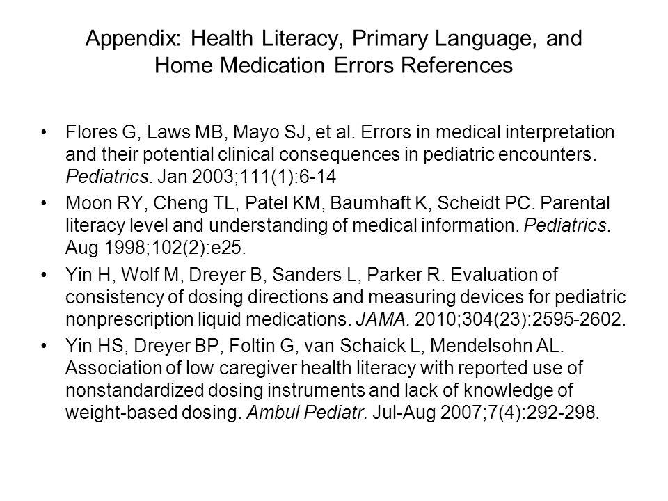 Appendix: References Bedell S, Jabbour S, Goldberg R, et.