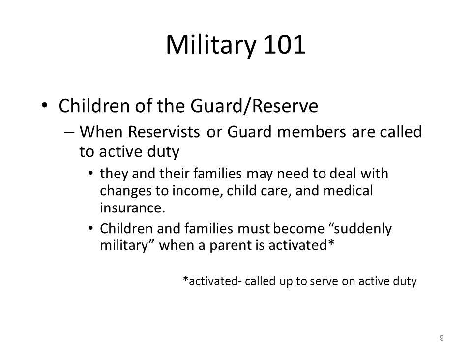 Military Children in School Literature 60