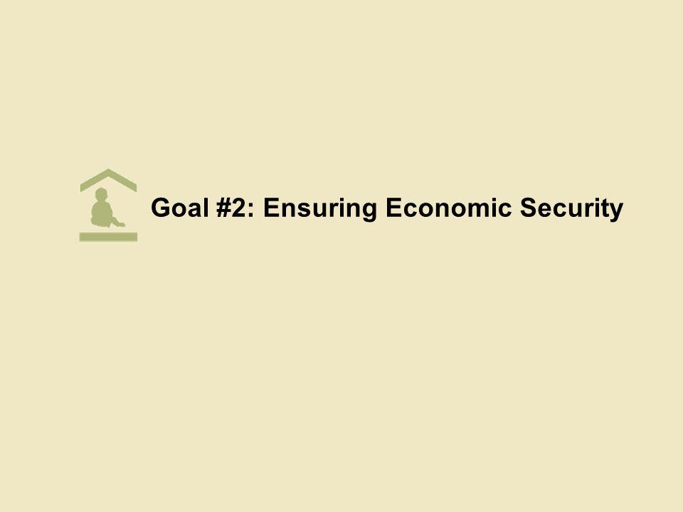 Goal #2: Ensuring Economic Security