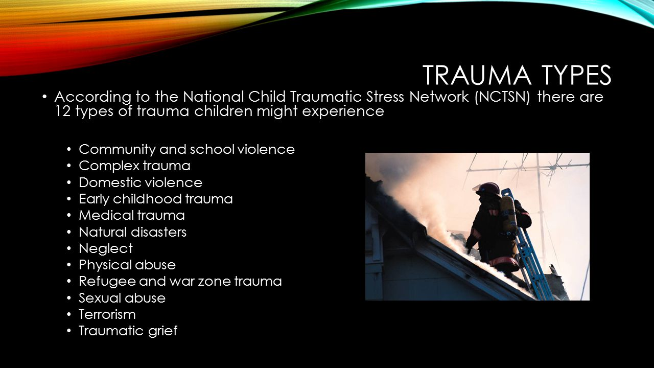 TRAUMA AND THE BRAIN The brain responds to external influences Brain controls the nervous system & is linked to other parts of body During a traumatic event or flashback, amygdala becomes activated, and hippocampus shuts down, which interferes with the ability to make sense of event (Rothschild, 2000)