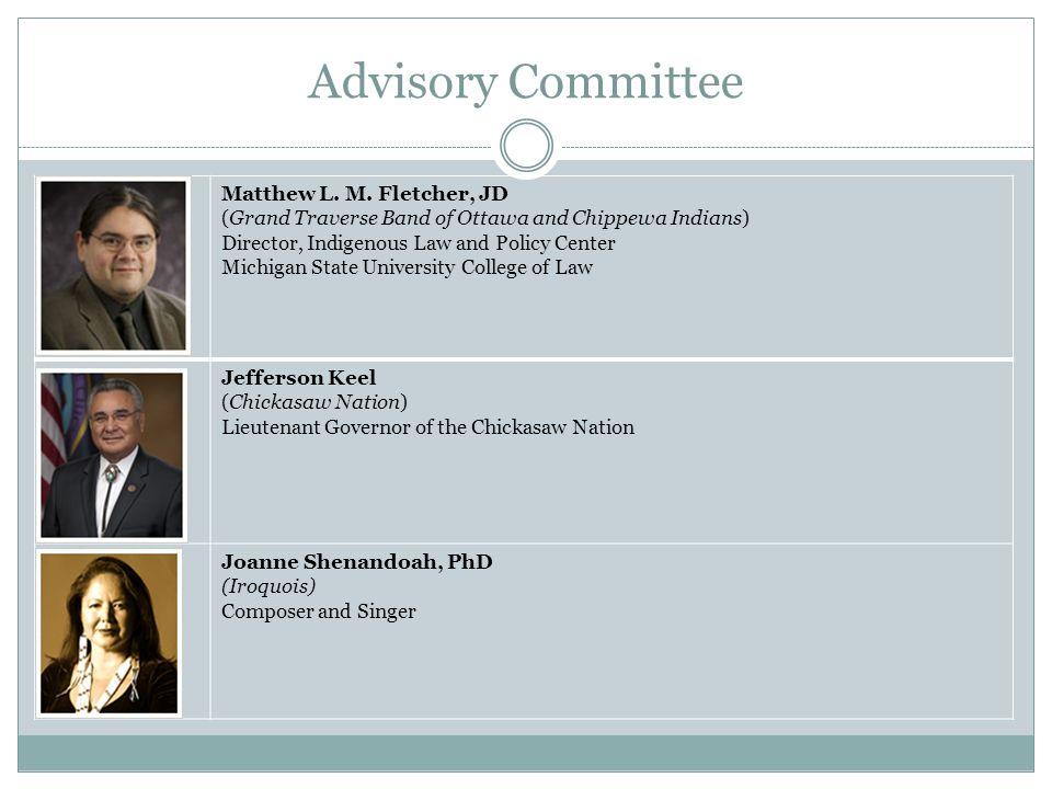 Advisory Committee Matthew L. M.