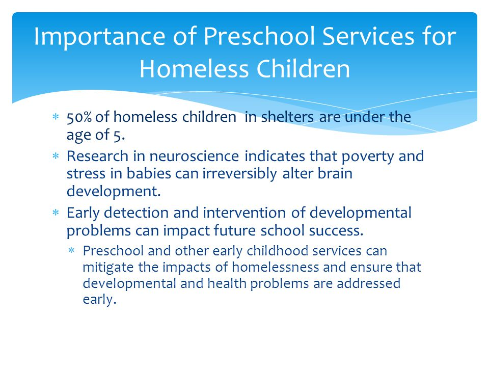  Contact an Early Learning Collaborative in your area  Discuss how with administrators how they can identify and prioritize services for young homeless children  Ensure they understand the definition of homeless  Share the NCHE brief with them To Dos for Local Liaisons