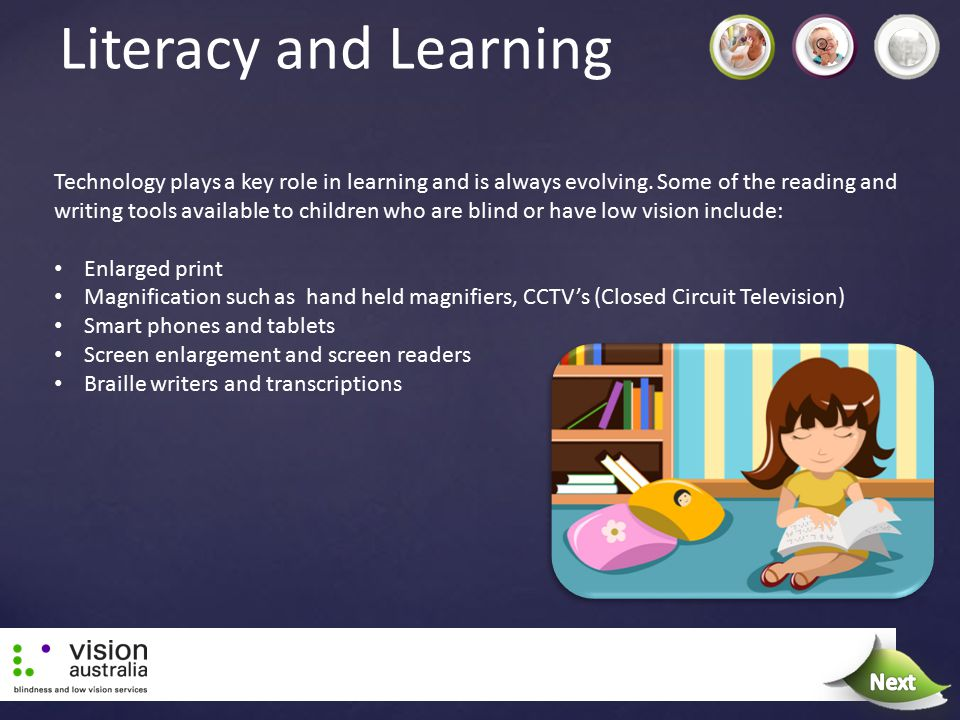 Literacy and Learning Technology plays a key role in learning and is always evolving. Some of the reading and writing tools available to children who