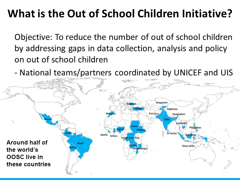 What is the Out of School Children Initiative.