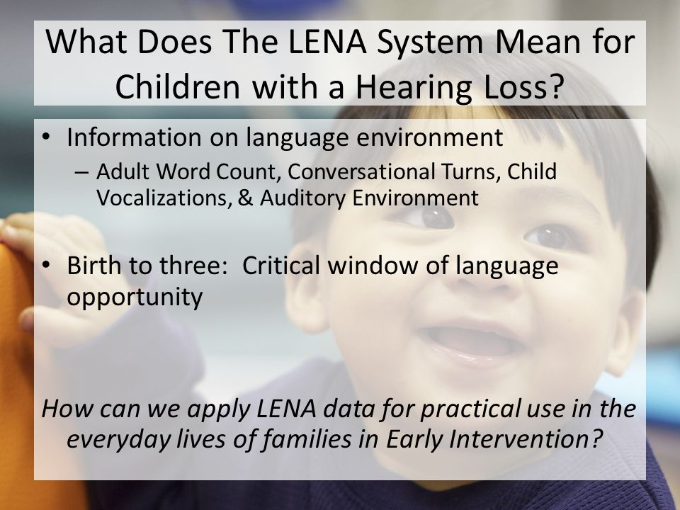 Cause and Effect Adult Word Count, Child Vocalizations, & Conversational Turns Television (Audio Environment)