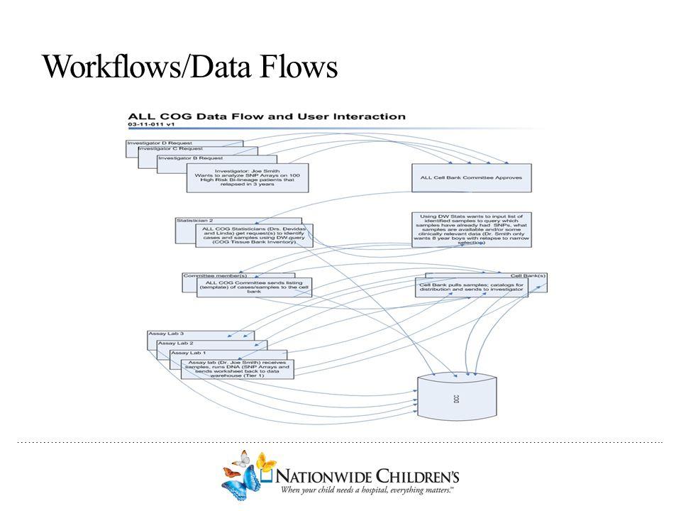 Workflows/Data Flows