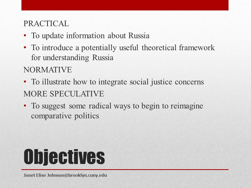 Context Upcoming elections in Russia Duma elections scheduled for December 2011 Presidential elections for March 2012 Democratic recession around the globe since 2008* Moving beyond the transition paradigm 1.thicker concept of democracy: electoral democracy vs.