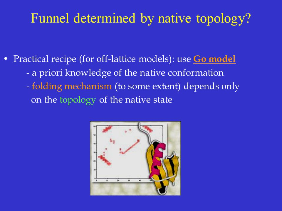 Funnel determined by native topology.
