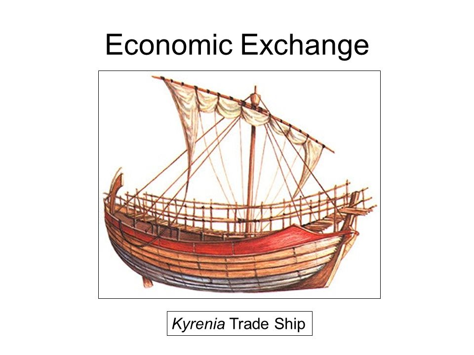 Economic Exchange Kyrenia Trade Ship
