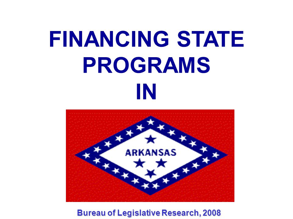 DEDICATED SOURCE GENERAL IMPROVEMENT FUND Three Methods of Funding Available REVENUE STABILIZATION LAW