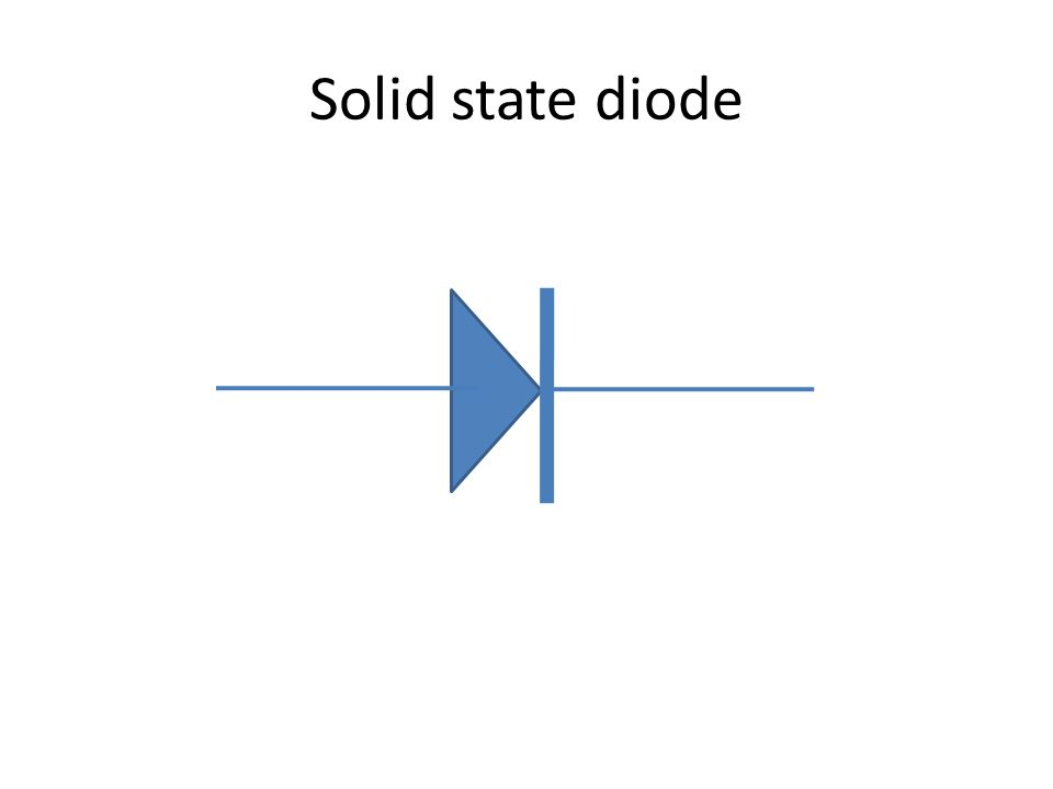 Solid state diode