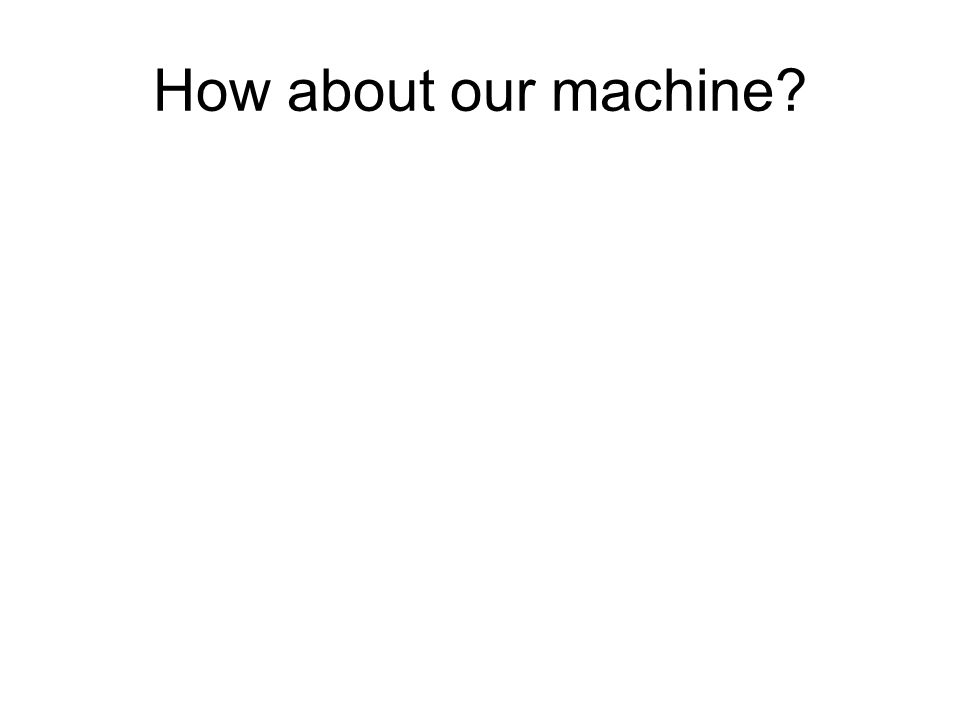 A Mealy machine is essentially a finite automaton with output.